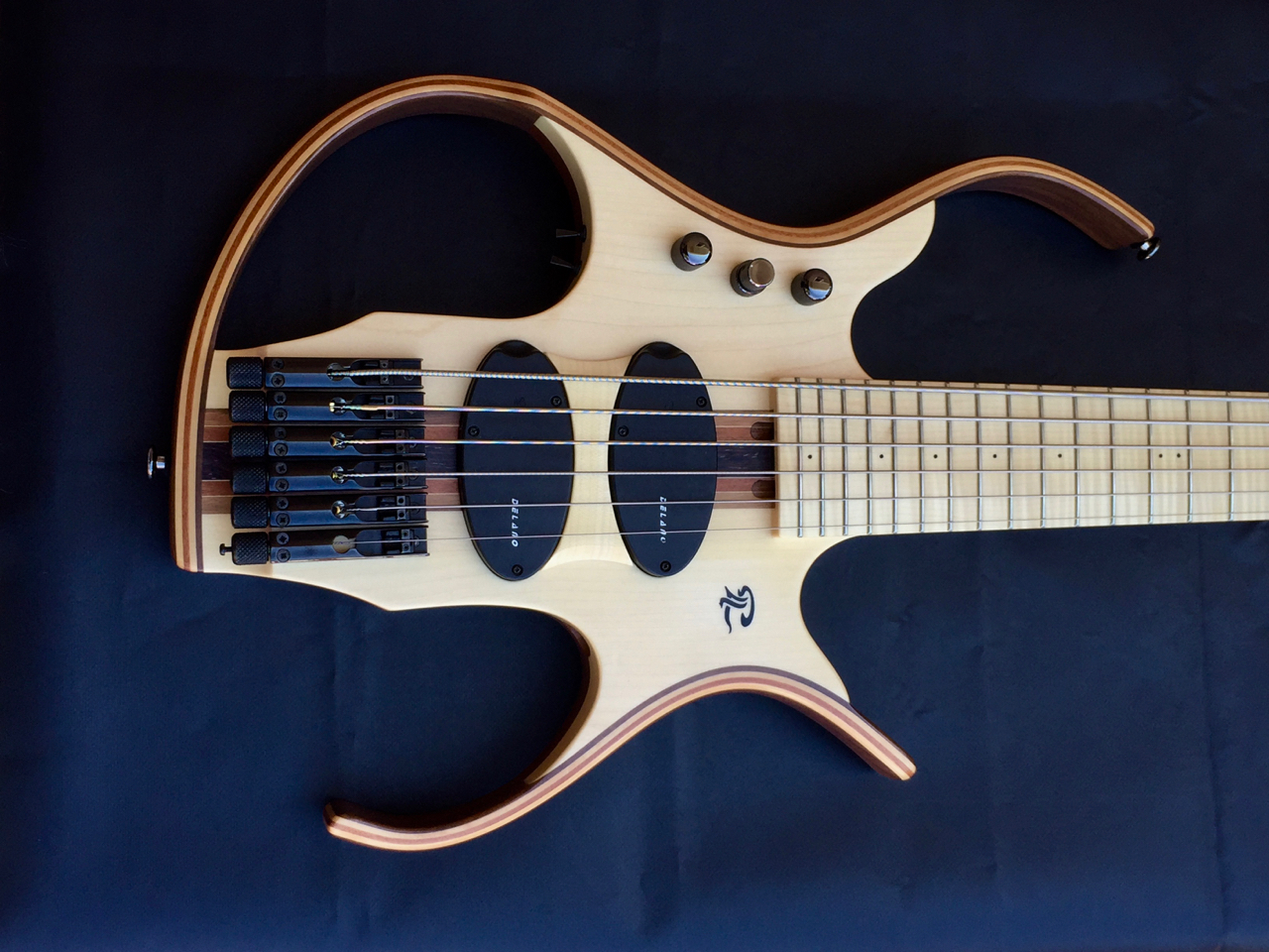 paul lairat stega 6 string electric bass guitar 32 scale luthiers access group. Black Bedroom Furniture Sets. Home Design Ideas