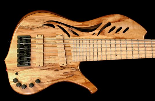 Adamovic Jupiter 5 string, 34 5″ scale with Haeussel