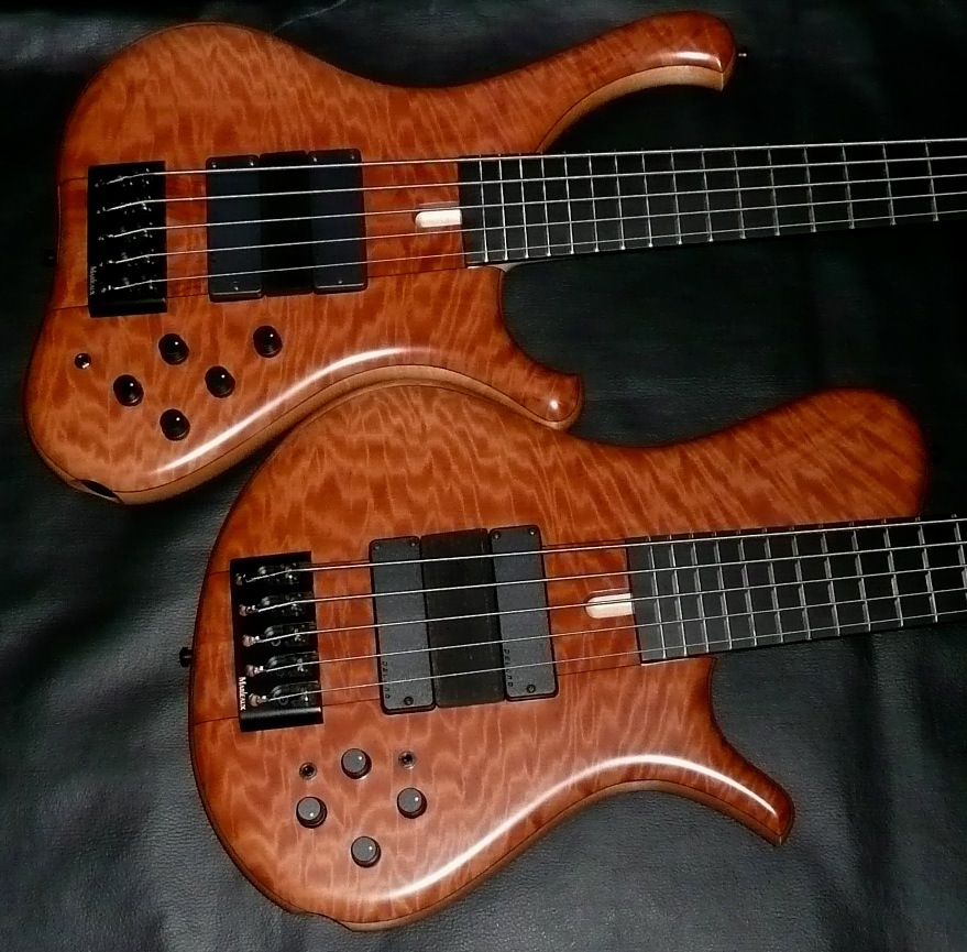 marleaux mbass 2012 5 34 scale bass guitar luthiers access group. Black Bedroom Furniture Sets. Home Design Ideas