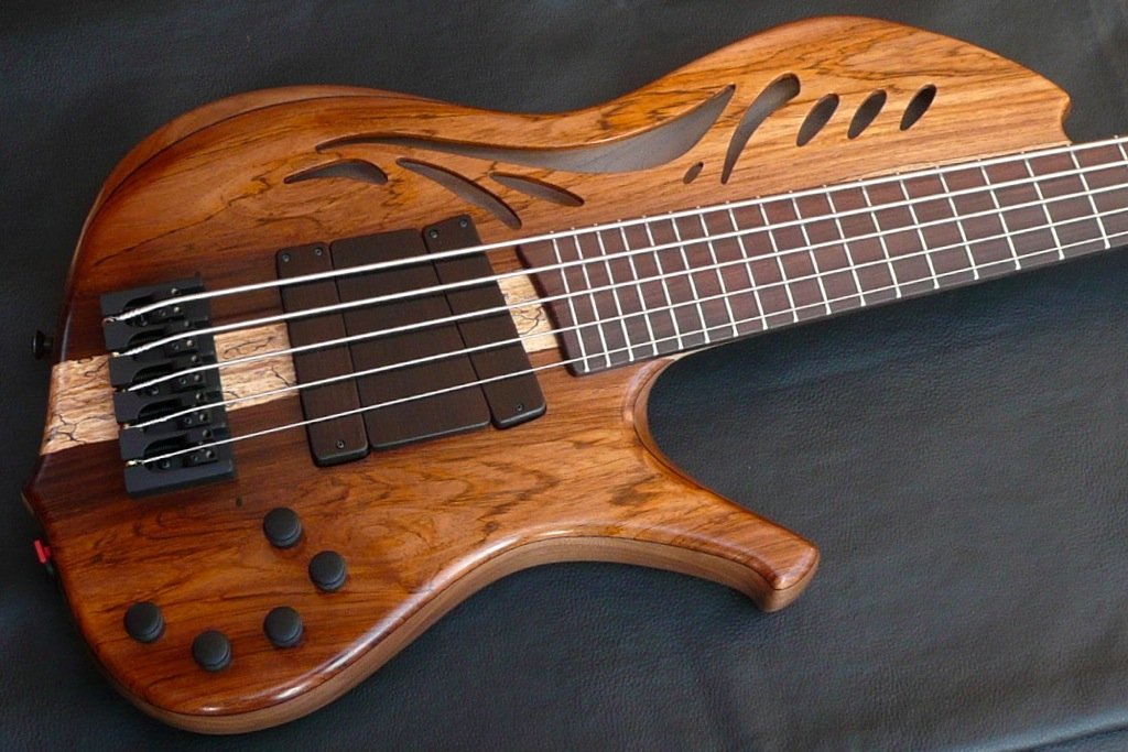kenneth lawrence instruments chamberbrase ii electric bass guitar luthiers access group