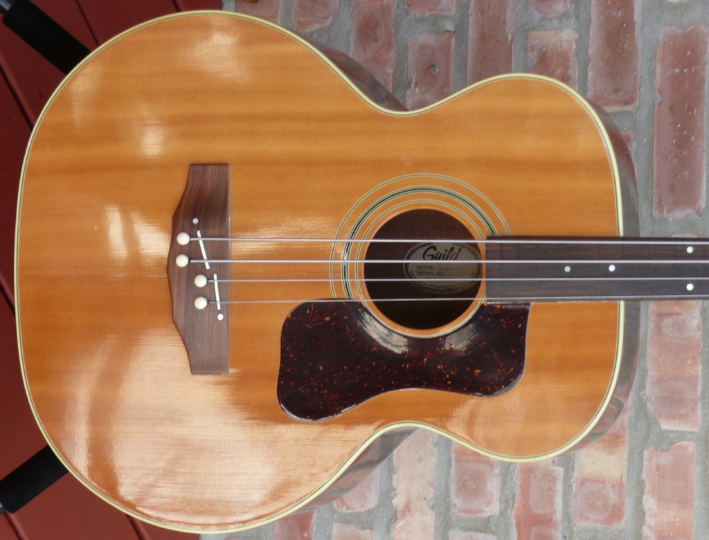 1a69cc288c02 Guild B50 Fretless Acoustic Bass Guitar made in 1976